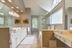 Lots of natural light in this master bath!