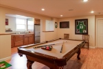 Lower Level Game Room  Kitchenette