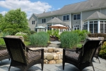 Bluestone Patio  Fire Pit