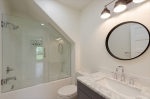 Beautiful full bathroom in the lower level