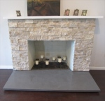 StoneQuartz Fireplace