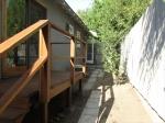 Rear Deck * Side Yard