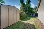 Rear Yard and Storage Shed