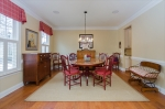 Formal Dining Room Abuts Butlers Pantry