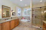 Windows Added in Master Bath to Enjoy Lake Views