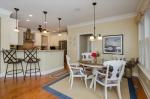 Open Floor Plan with All Hardwood Floors