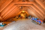 Walk-In Attic Storage