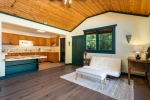 Planked Pine Ceiling