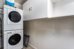 Laundry Room Off Kitchen for Stackable