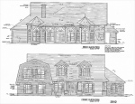 Hilltop house elevations_