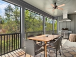 Screened Porch w Grill Area