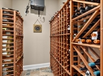 Climate-Controlled Wine Cellar