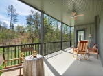 Screened Porch Overlooks Community Common Area