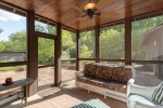 Screened Porch Opens to Patio