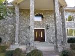 Stone Front Huge Columns