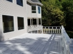 Rear of Home Decks