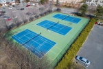 tennis aerial