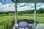 Enjoy stunning views on the wrap around porch