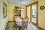 Eat in kitchen opens to screened porch