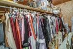 Large walk in cedar closet in bedroom 4