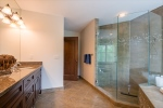 Separate Glass Shower