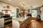 Renovated kitchen with many amenities