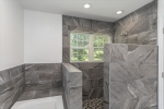 Tub and walk-in shower
