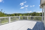 Huge deck with lovely views