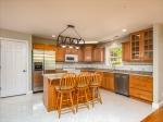 New granite countertops and walk-in pantry