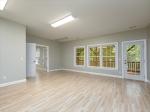 Bright lower level living room