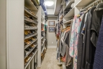 Each closet is custom designed and huge!