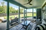Screened porch brings the outdoors in!