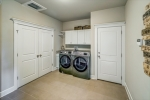 Laundry room on main level with access to garage