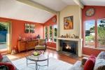 Elegant Living Room with expansive windows