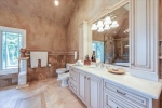 Master Bath with Two Vanities Toilet and Bidet