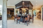 Wet Bar in Grand Entry Foyer