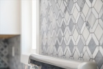 Custom Marble Tile Back Splash