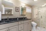 Gracious master bath with Toto toilets