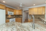 Renovated kitchen w granite counter top  stone