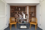 Wine Cellar with Tasting Area and Closets