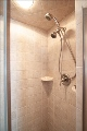 tiled master shower