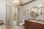 Gorgeous full bathroom #2 with custom details.