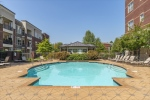 Sparkling pool included in HOA amenities.