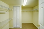 Large walk in closet