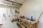Basement Workshop with direct outside access