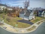 Tree-lined corner lot