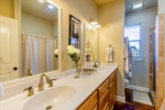 2nd Bathroom w Double Sinks