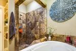 Master Bathroom w Soaking Tub and Walking Shower