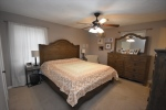 Carpet and ceiling fan