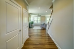 Luxury vinyl floors look like wood with no upkeep!